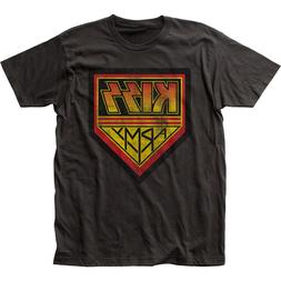 KISS Army T Shirt Mens Licensed Rock N Roll Music Band Retro