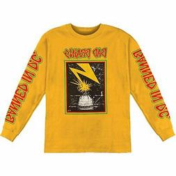 authentic band capitol logo long sleeve t