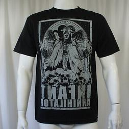 Authentic INFANT ANNIHILATOR Band Goat Lord Skulls Logo T-Sh