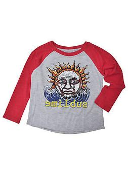 Baby Toddler Boys Sublime Band T-Shirt Raglan Music