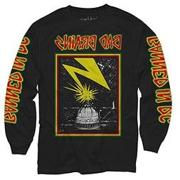 Merch Direct Bad Brains - Capitol - Long Sleeve Shirt - BLA