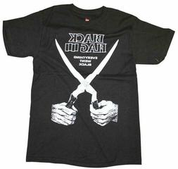 BLACK FLAG T-Shirt Everything Went Black Punk Band Tee New A