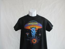 Boston Classic Spaceship Band T-Shirt - Black Men's Sizes Sm