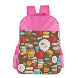 16.23oz Boys Easily Cleaned Backpack Convenient Funny Cartoo