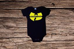 BOYS  SHIRT~BOYS BAND SHIRT~INFANT WU TANG SHIRT~BOYS WU TAN