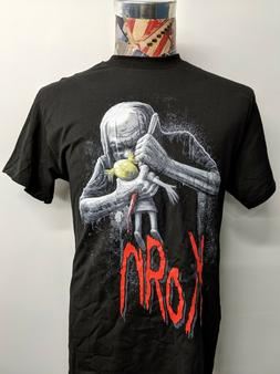 BRAND NEW KORN RED BAND LOGO WITH DOLL AND BLOODY DAGGER BLA