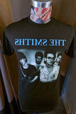 BRAND NEW THE SMITHS BLUE BAND NAME  W / MORRISSEY IN SPECS