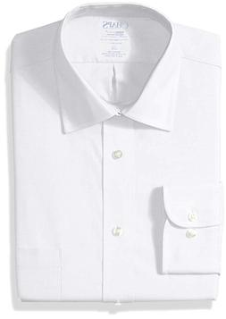 Chaps Men's Dress Shirts Regular Fit Stretch Collar Solid,