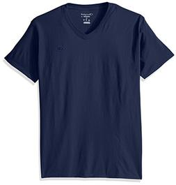 Champion Men's Classic Jersey V-Neck Seabottom Blue S