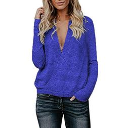 HYIRI ✈ Crazy Promotion!!! Knitted Deep V-Neck Long Sleeve