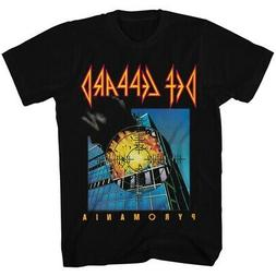 Def Leppard 80s Heavy Hair Metal Band Rock and Roll Pyromani