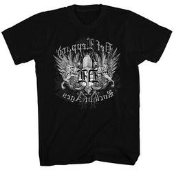 Def Leppard 80s Heavy Hair Metal Band Rock of Ages Adult T-S