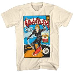 Def Leppard Women of Doom Comic Album Cover Men's T Shirt Ro