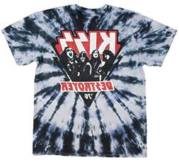 KISS Destroyer '76 Retro Looking Band All Over Tee T-Shirt )