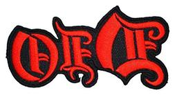 DIO Heavy Metal Band t Shirts Logo MD10 Applique iron on Pat