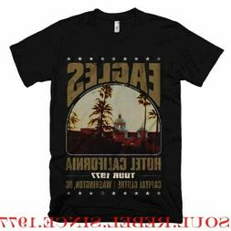 EAGLES HOTEL CALIFORNIA CLASSIC ROCK BAND  T SHIRT MEN'S SIZ