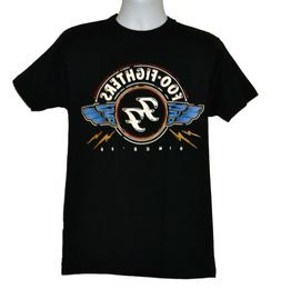 Foo Fighters T-shirt Rock Band Graphic Tee Black Preshrunk C