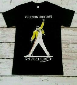 FREDDIE  MERCURY- Yellow Jacket - QUEEN  - BAND  T-SHIRT