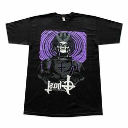 GHOST SWEDISH Rock Band Purple  Men's T-Shirt Black