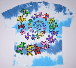 GRATEFUL DEAD-SPIRAL BEARS- Cloud TIE DYE T-SHIRT L-XL-XXL G