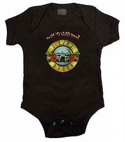 Guns N Roses GNR Sweet Child Infant Baby Romper Snapsuit