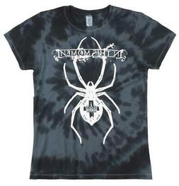 IN THIS MOMENT T-SHIRT TIE DYE NAVY WOMENS ROCK MUSIC METAL
