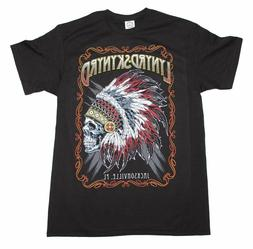 Lynyrd Skynyrd Indian Skeleton T-Shirt Classic Southern Rock