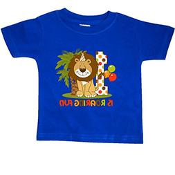 inktastic - Cute Lion 1st Birthday Baby T-Shirt 18 Months Ro