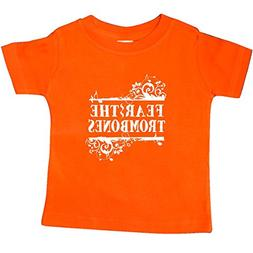 inktastic Fear The Trombones Band Music Baby T-Shirt 24 Mont