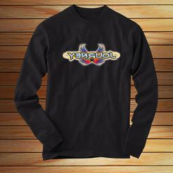 JOURNEY BAND LOGO new - LONG SLEEVES T SHIRT Black All Size