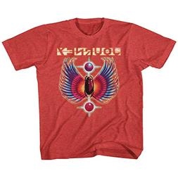 Journey Rock Band Music Group Colored Wings Logo Vintage Tod