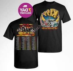 KISS band T-Shirt End of the Road Farewell Tour 2019 Concert