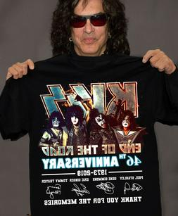 KISS Band T-Shirt End of the Road Farewell Tour 2019 Anniver