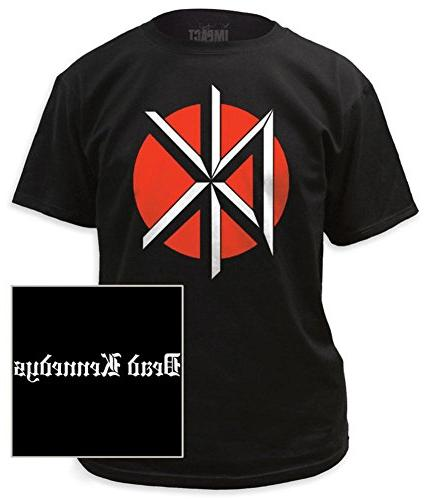 Dead Kennedys - Logo with Black Print T-Shirt Size S