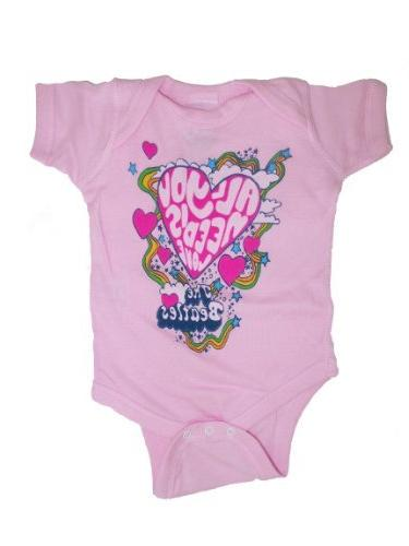 The Beatles - All You Need Is Love Infant Bodysuit - 18 mont