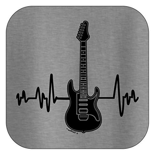 ThisWear Lover Gifts Musicians Band Guitar Music T-Shirt XL SpGry