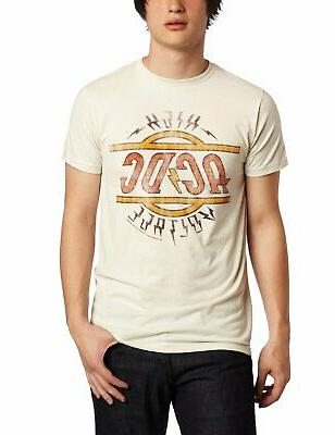 authentic ac dc high voltage distressed logo