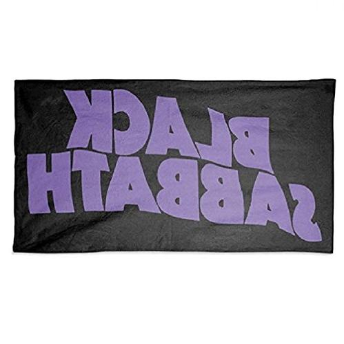 black sabbath beach towel