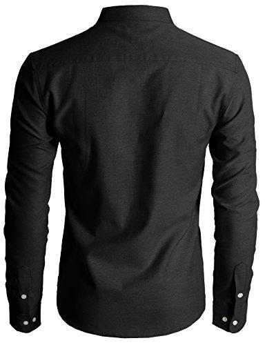 H2H Mens Collar Down Shirts XL/Asia 2XL