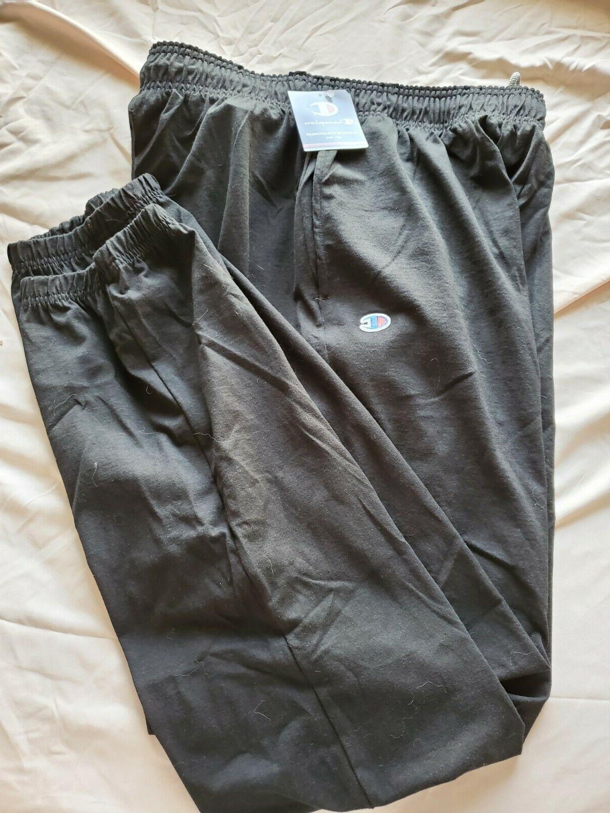 closed bottom jersey pant