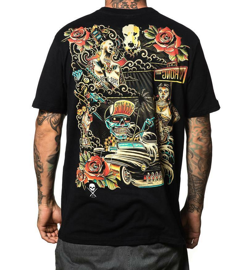 Sullen Clothing Sublime All Wrong Music Band Rock Adult Mens