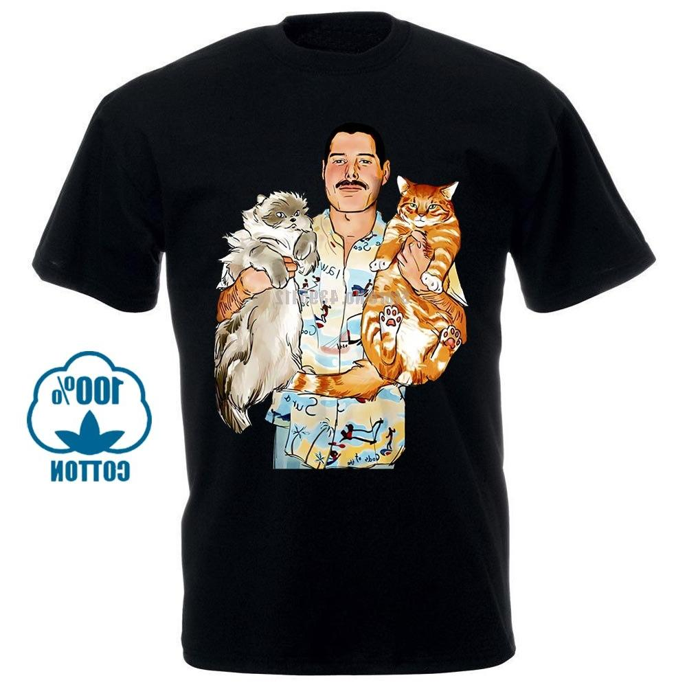 freddie mercury hug cats cute rock font