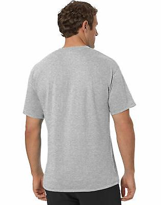 Champion Classic Jersey Tee T-Shirt Athletic Fit Ringspun Short Sleeve