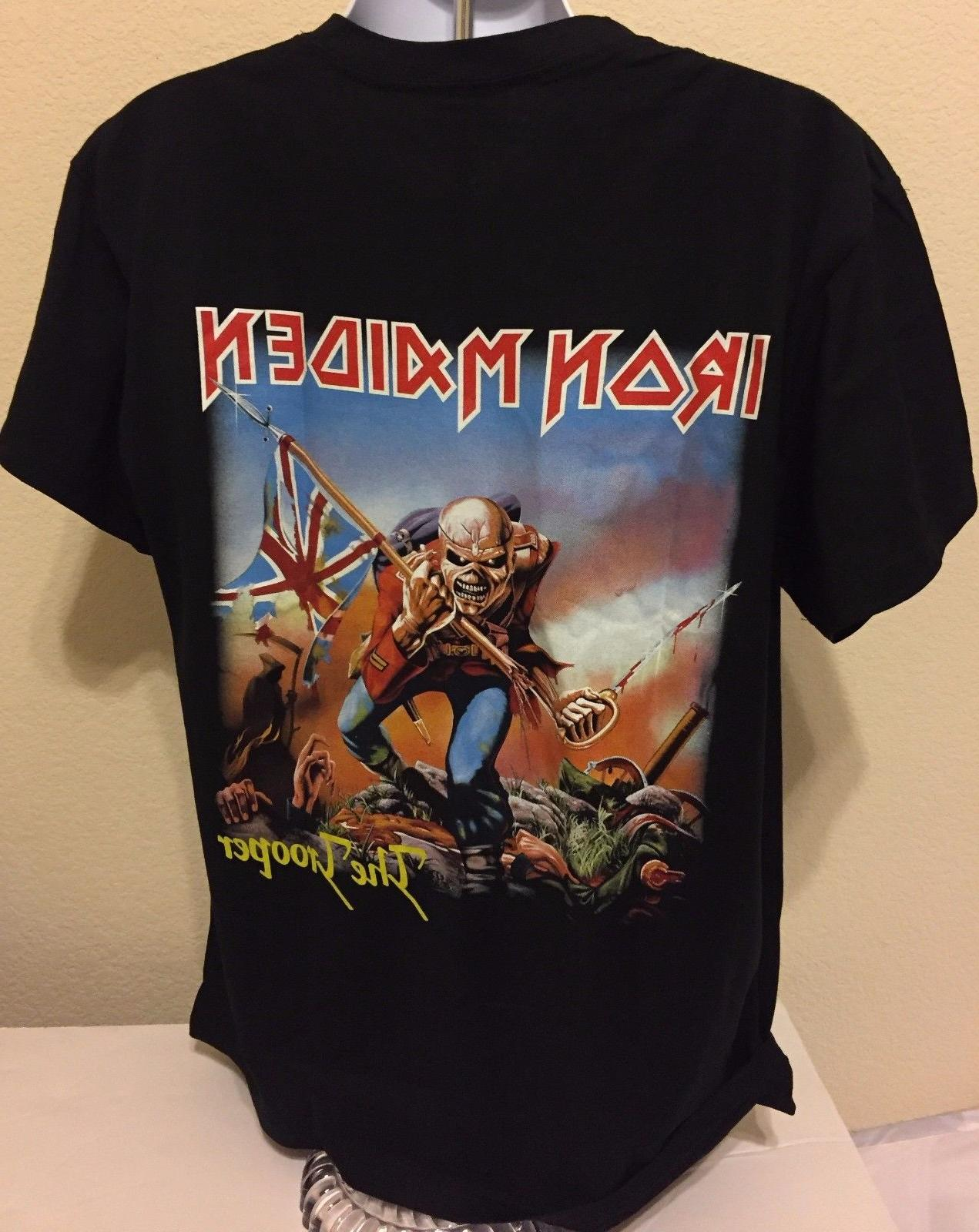 NEW Band T-Shirt *The Trooper* High