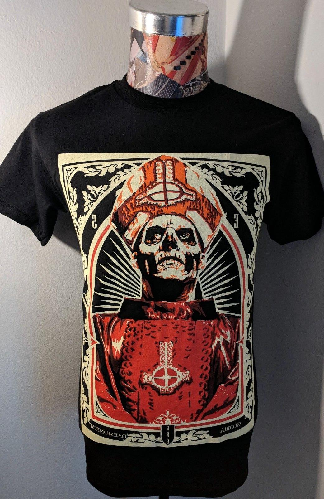 NEW GHOST SWEDISH ROCK BAND RED PAPA EMERITUS SKELETON BISHO