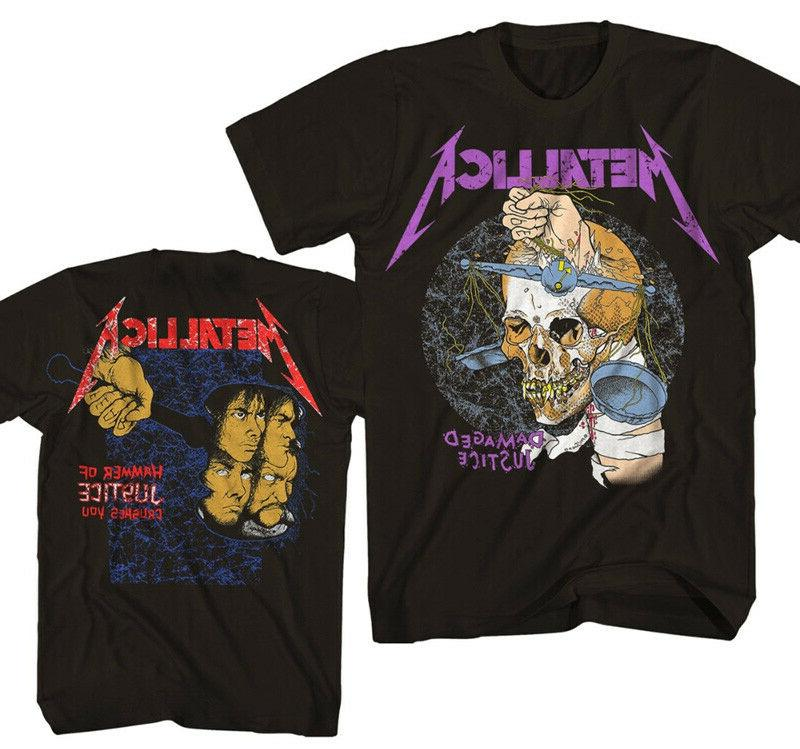new harvester of sorrow damaged justice shirt