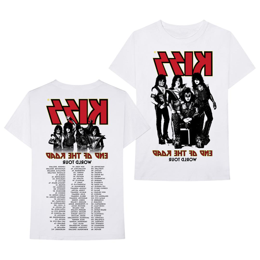 Men/'s KISS Band End of the Road Farewell Tour 2019 Concert T-Shirt Size S to 3XL