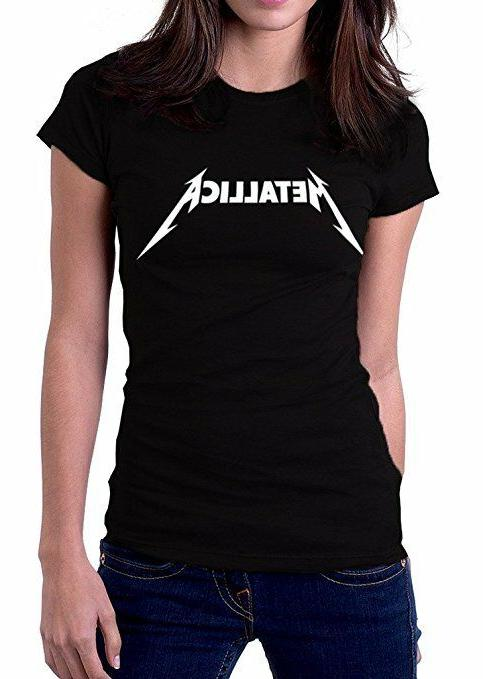 NEW METALLICA Women's Rock Band T Shirt  S-XL - FREE SHIPPIN