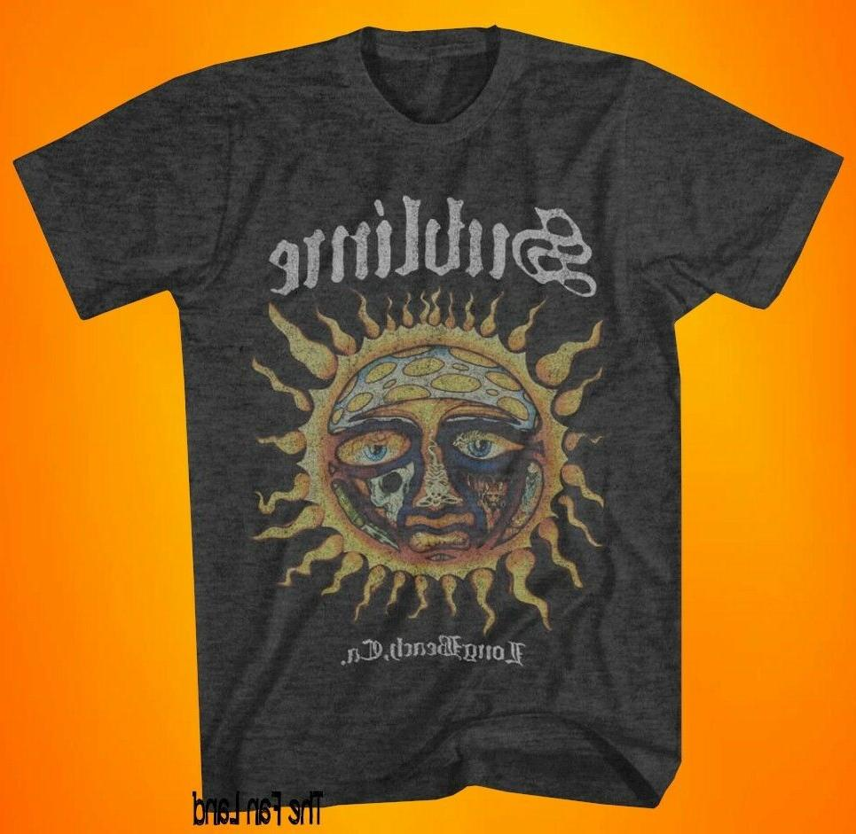 new sun face vintage 1996 charcoal mens
