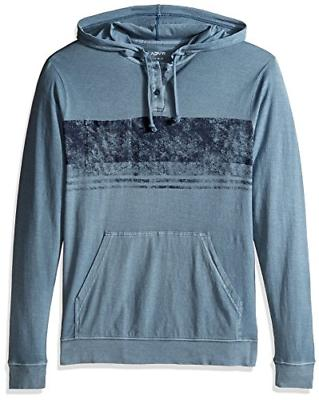 Men's Rvca Ptc Band Hoodie, Size Large - Blue